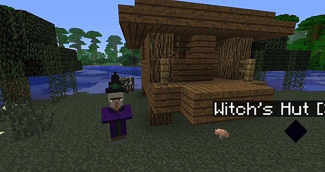 Minecraft Build Witch Hut