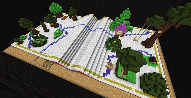 Hundred Acre Wood (Kingdom Hearts) Minecraft Project