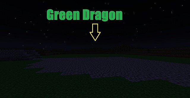 There will the green dragon be..