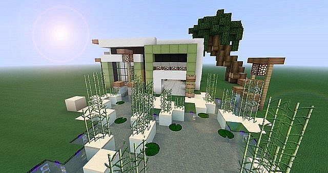 Modernes haus minecraft project for Minecraft modernes haus jannis gerzen