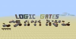 | Redstone - Logic Gates | Minecraft Project
