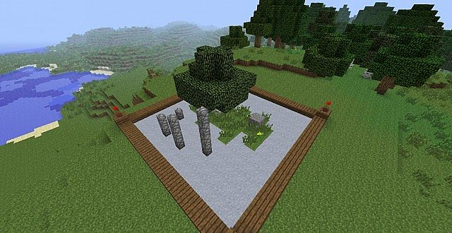 Zen Garden Minecraft Project
