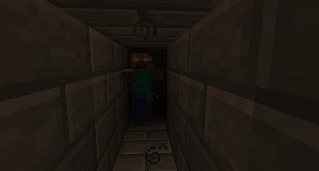 Herobrine s scary maze minecraft project