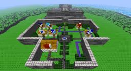 Final Fantasy 1 Overworld Minecraft Map & Project