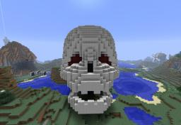 3D Skull Minecraft Map & Project