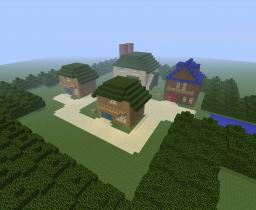 New Bark Town Minecraft Map & Project