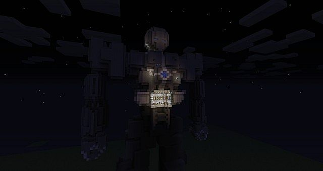 Giant robot thing Minecraft Project