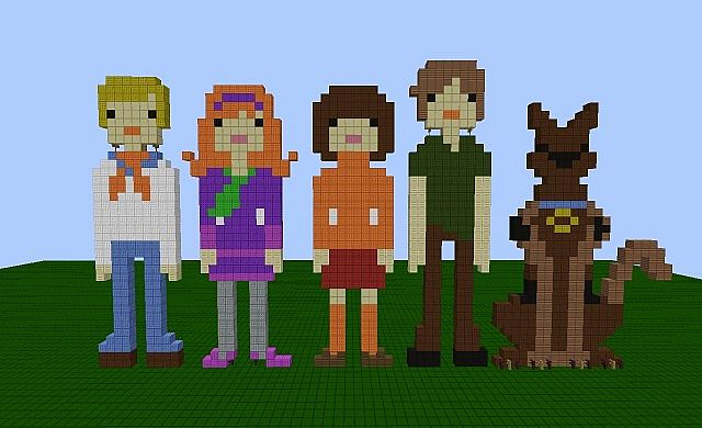 Scooby Doo Minecraft Maps & Projects - Planet Minecraft