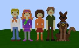 Scooby Doo and the Crew (Mystery Gang) Minecraft