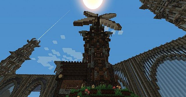 Medieval Windmi... Minecraft Windmill Farm