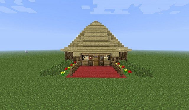 Big Nice House a big nice house minecraft project
