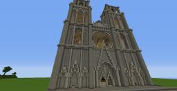 Big Ben inspired cathedral Minecraft Map & Project