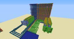 MASSIVE 128 bytes RAM Minecraft Map & Project