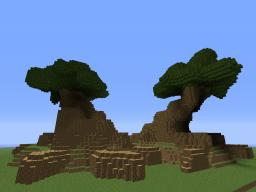 Two Giant Trees Minecraft Project