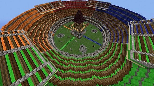 Quad Maps TDM! - Epic 4v4 PvP Arena! Minecraft Project