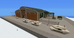 Heavy Tanks Factory Minecraft Project