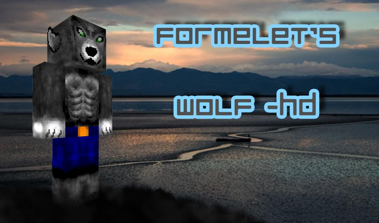 HD Wolf Skin Minecraft Blog - Skins para minecraft pc 1 11