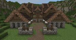 Medieval Barrack Minecraft