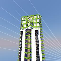 Modern Skyscraper / Hotel Minecraft Map & Project