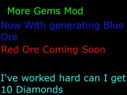 More Gems Mod [ModLoader Needed] V 0.2.0 Minecraft Mod