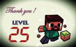 25 Level SPECIAL Minecraft Blog