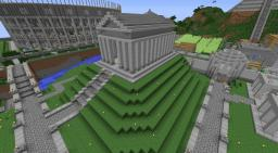 Roman Temple Minecraft Map & Project