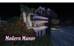 Modern Manor- Hanging Design Minecraft Map & Project