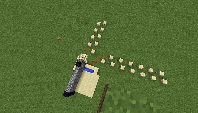 how to make an automatic cobblestone generator with pistons