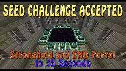 [SEED] Find the END Portal in 35 seconds! Minecraft Blog Post