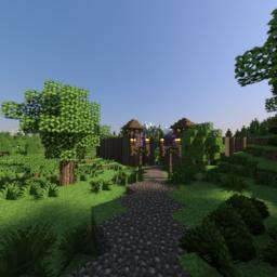 Nordic/Viking village [DISCONTINUED] Minecraft Map & Project
