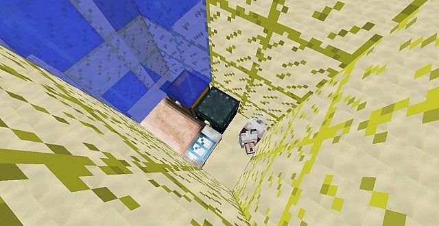 how to make sand in minecraft skyblock