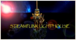 A Steampunk Lighthouse~~[ sneak peek in upcoming project] Minecraft Map & Project