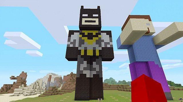 Batman Statue! Minecraft Project