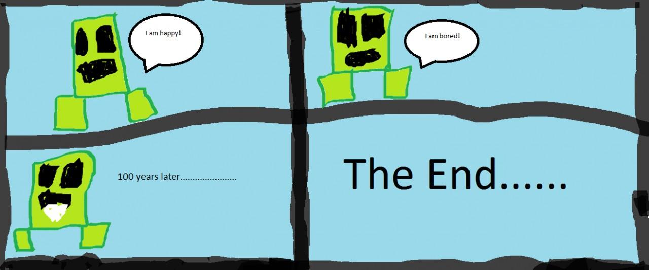 the creeper comic minecraft blog