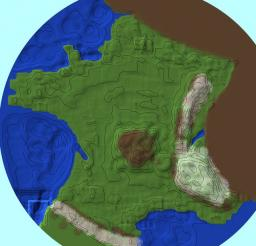 map france Minecraft Project
