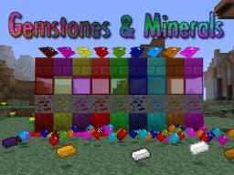 [1.4.5] [FORGE] Gemstones & Minerals [Stained Glass, Coloured Lamp, 9 Gems, 5 New Materials] Minecraft Mod