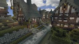 Small medieval village - Now with save :) Minecraft Project