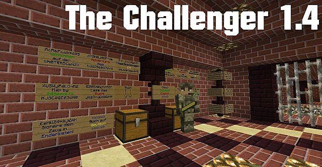 Minecraft 1.5 - adventure map - the challenger 1.4