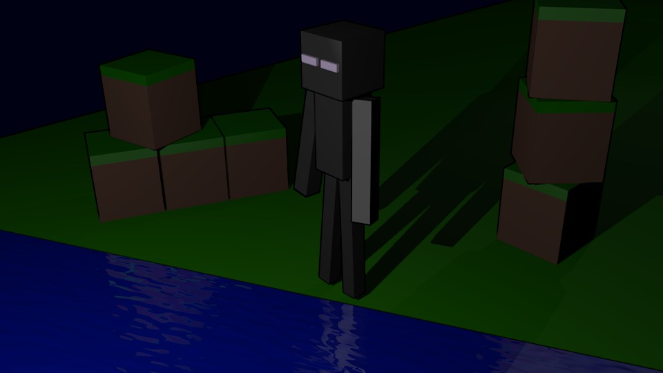 Enderman Desktop Wallpaper Minecraft Blog