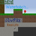 the new waterhobo simply realistic texturepack Minecraft