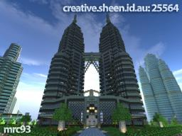 Petronas Towers Minecraft Map & Project