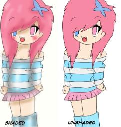 My Drawing Of my CottonCandy girl (: Minecraft Blog