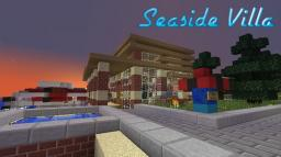 Seaside Villa - Modern Server House Minecraft Map & Project