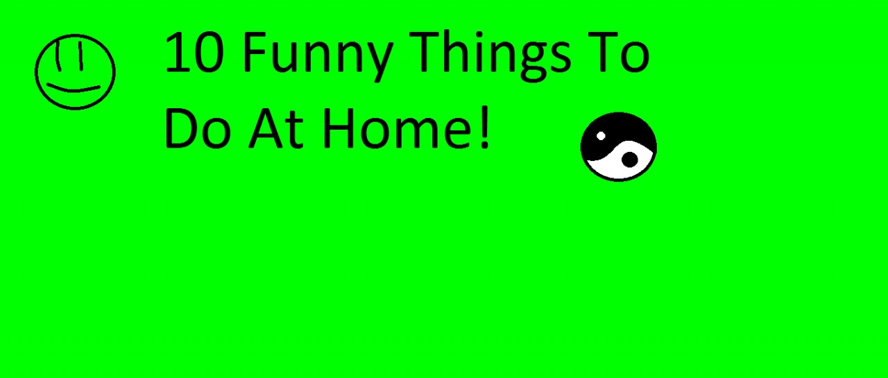 10 Funny Things To Do At Home Minecraft Blog