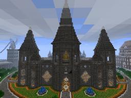 Paxcraft Spawn Buildings [Paxcraft Building Series] Minecraft Map & Project