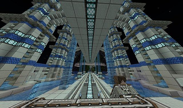 Spawn Lobby Design Minecraft Project