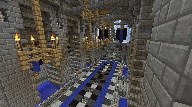 Inside the grand hall..