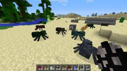 Elemental Spiders Mod v1.0 Minecraft