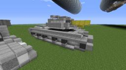 Heavy Tank C13 Equalizer Minecraft Map & Project