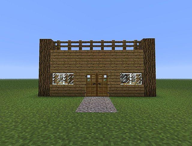 Minecraft Greenhouse Simple